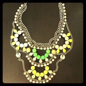 Jewelry - Bejeweled Summer Statement Necklace